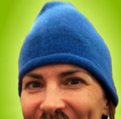 blue beanie for web standards